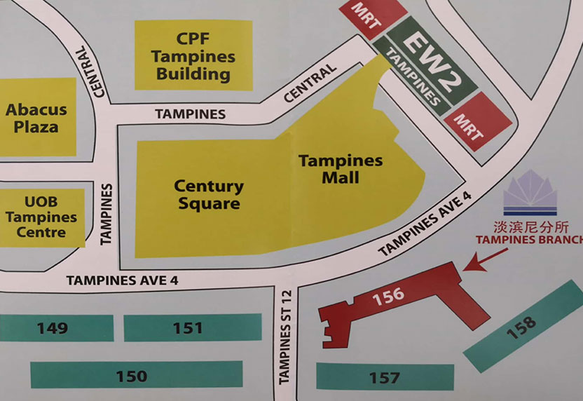 Locate Us | Singapore Buddhist Free Clinic